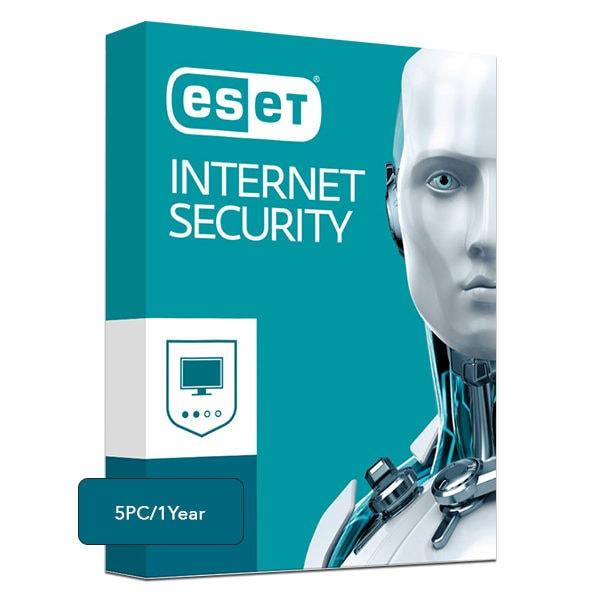 Eset Internet Security – 5 PCs, 1 Year