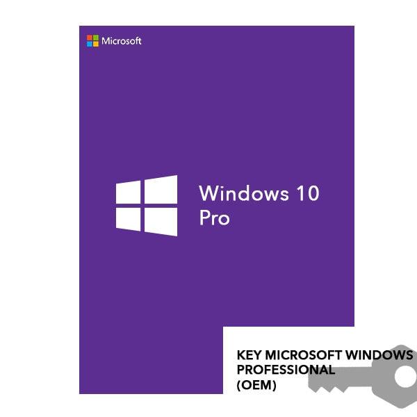 KEY MICROSOFT WINDOWS 10 PROFESSIONAL (OEM)